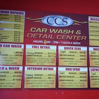 Ccs Car Wash San Gabriel