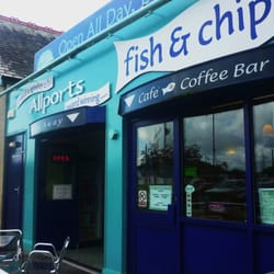 Allports Fish & Chip Shop, Pwllheli, Gwynedd