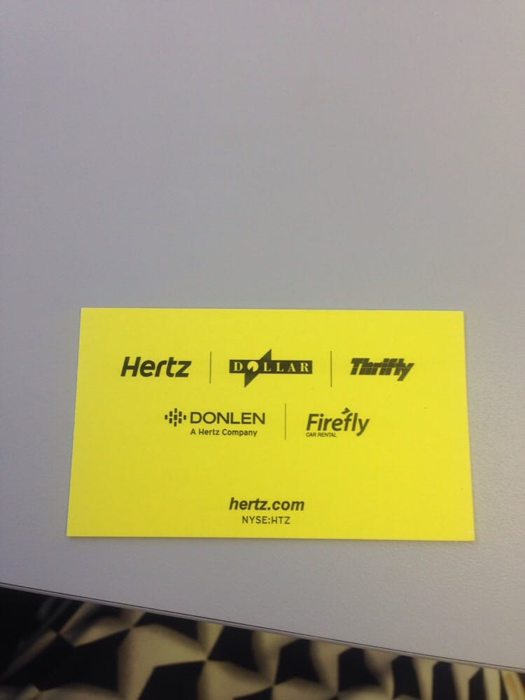 Phone Number To Hertz Rent A Car