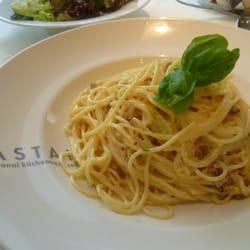 Sehr gute Spagetti Carbonara (8.-)