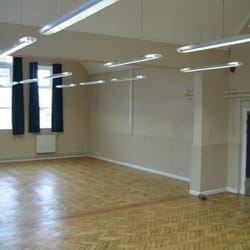 The main hall- perfect for private parties, AGM's, keep fit classes