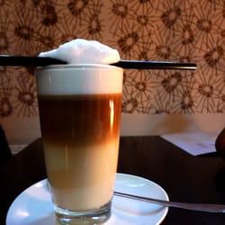 Der vegane Latte Macchiato - aufgenommen…