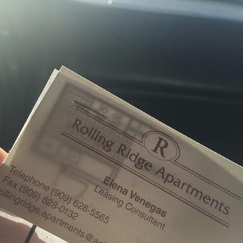 Rolling Ridge Apartments Chino Hills Reviews