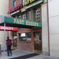 Fast Eddie's Billiard Cafe logo