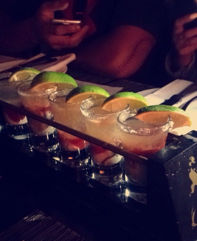 Oyster shooters topped with tequila yelp for Flying fish seattle