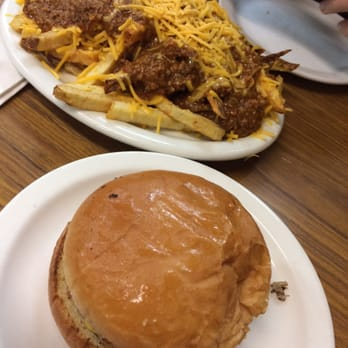 ... OK, United States. Old fashioned cheeseburger and chili cheese fries