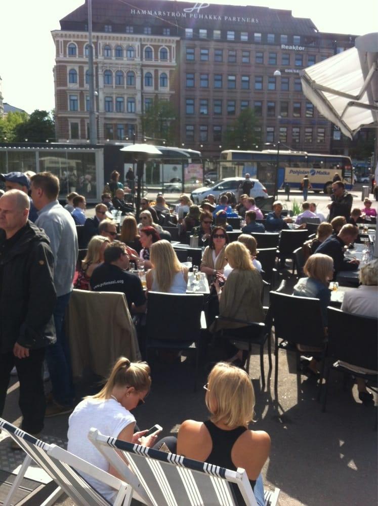Erottajan aurinkoterassi cocktail bars kaartinkaupunki for Kiila food bar 00100 kalevankatu 1 helsinki suomi