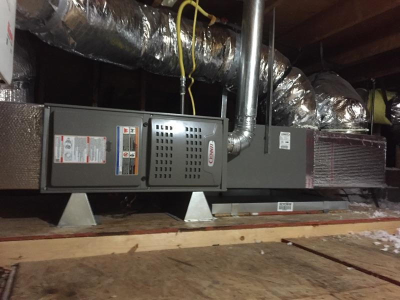 Carrier furnace installation location filters