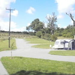Caravan Club CL site at Greetham Retreat near Horncastle in the Lincolnshire Wolds