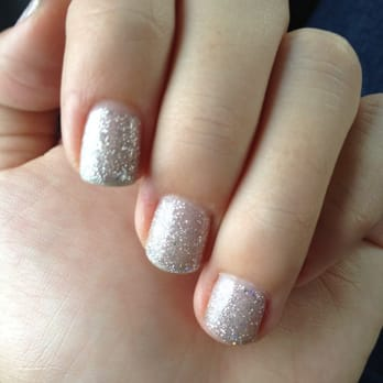 Gemini Nails and Makeup - Austin, TX, United States. Glitter Shellac