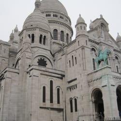 Sacre Coeur atop Montmartre