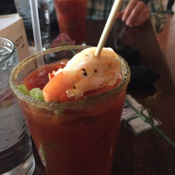 ... City Food & Brewery - Troy, MI, United States. Bloody Mary's on p...