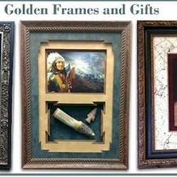Golden Frames & Gifts logo