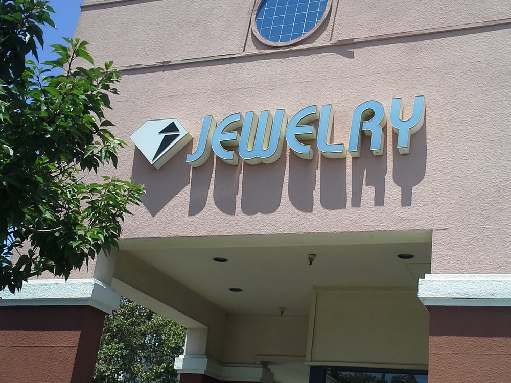 Jewelry by design store front raley 39 s shopping center for Jewelry consignment shops near me