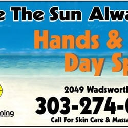 Hands & Tans Day Spa logo