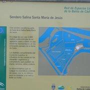 plan des salines de Chiclana, parc…
