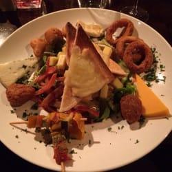 La végie salade, avec assortiment de…