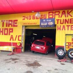 GM Tire Shop logo