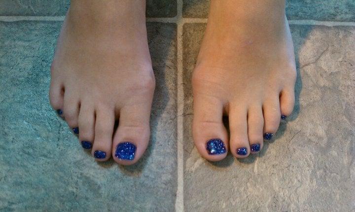 Sassy Nails - Reno, NV, United States. Gel Glitter Toes