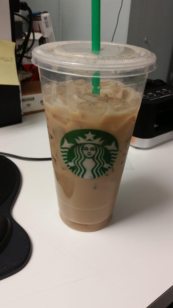 ... NY, United States. Iced vanilla chai tea latte w/soy milk...love it