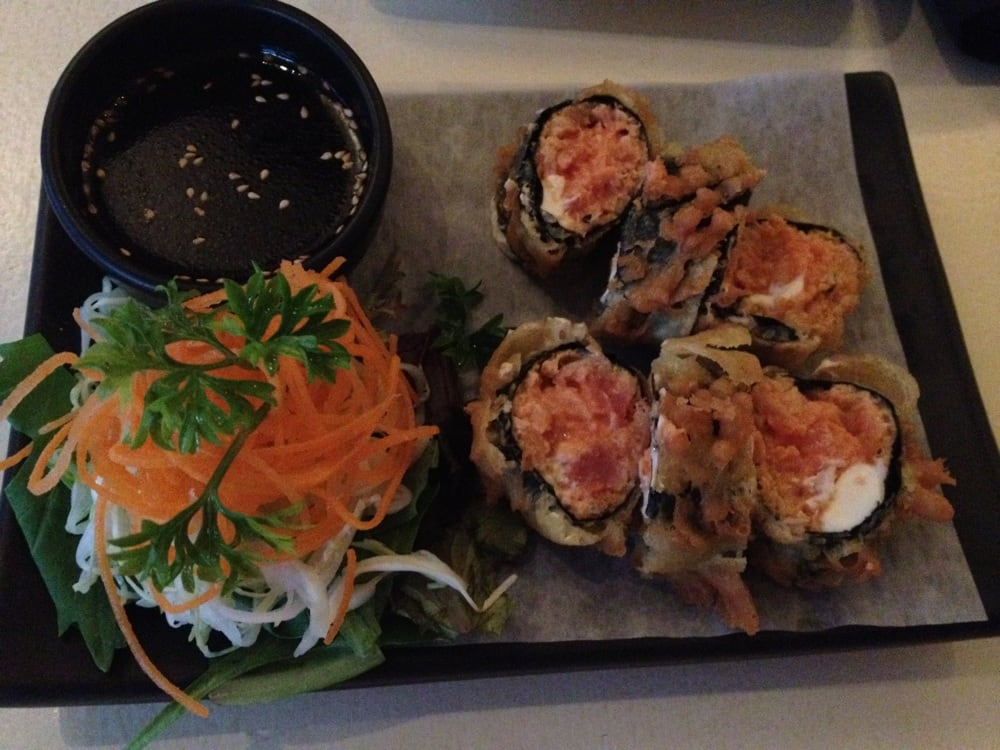 tempura shiso spicy tuna tempura make the spicy tuna put enough spicy ...