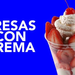 Paleterias Tropicana - Fresas Con Crema - Kansas City, MO, Vereinigte Staaten