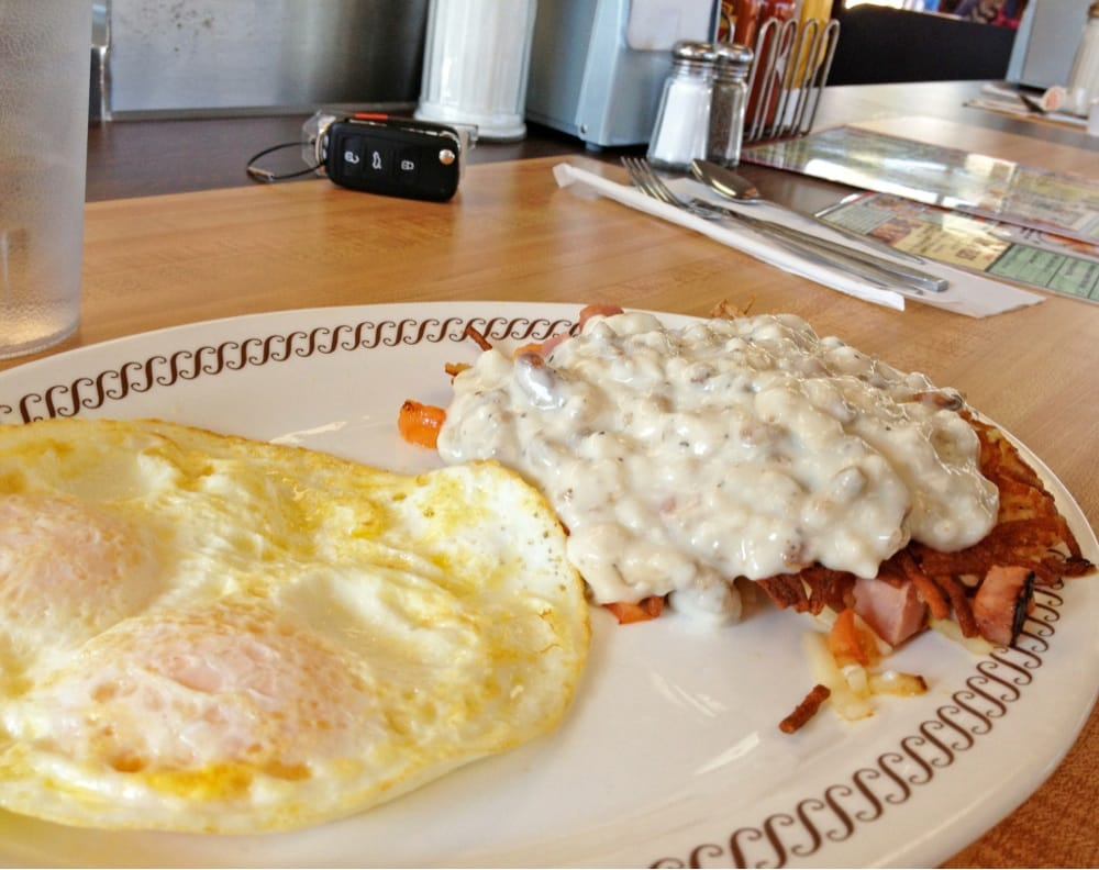Waffle House Loaded Hash Browns Waffle House Eggs And Loaded