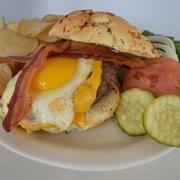 Prairie House Tavern - Breakfast Burger - Buffalo Grove, IL, Vereinigte Staaten