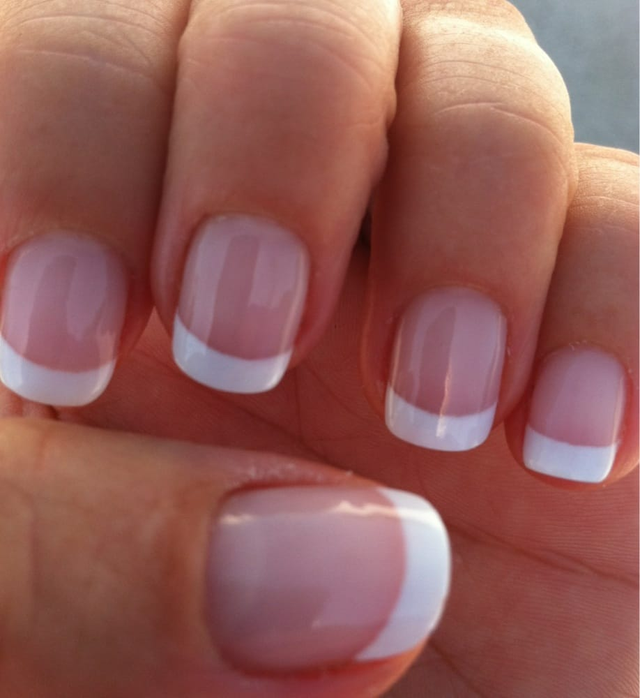 A Perfect Job Gel French Manicure By Tu She Always Does A Great Job Yelp