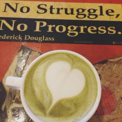 Coffee to the People - soy green tea latte - San Francisco, CA, Vereinigte Staaten