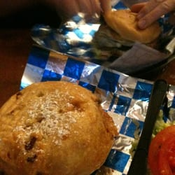 Twisted Burger - Portabella burger (back) & guilty pleasure (front) - Orlando, FL, Vereinigte Staaten