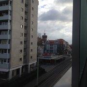 Blick vom Parkhaus