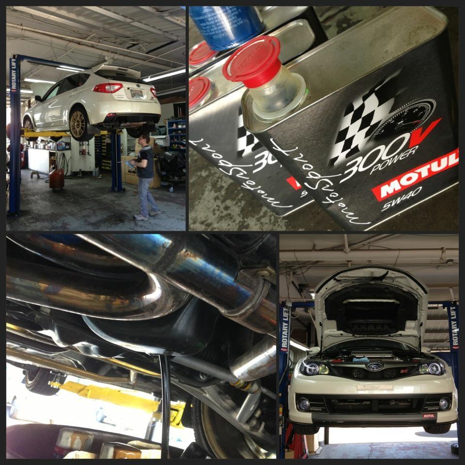 Corner garage photos auto repair granite