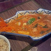 Royal Orchid - veggie massaman curry with brown rice. - Ocala, FL, Vereinigte Staaten