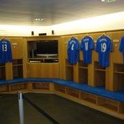 Home locker room