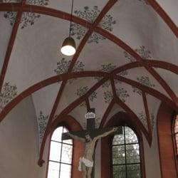 Evangelische Kirche Nieder-Ramstadt, Mühltal, Hessen