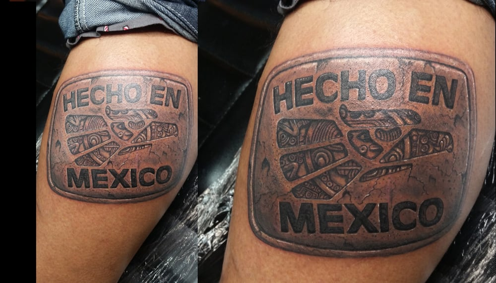 Aztec tattoo hecho en mexico yelp for Chicago tattoo piercing co