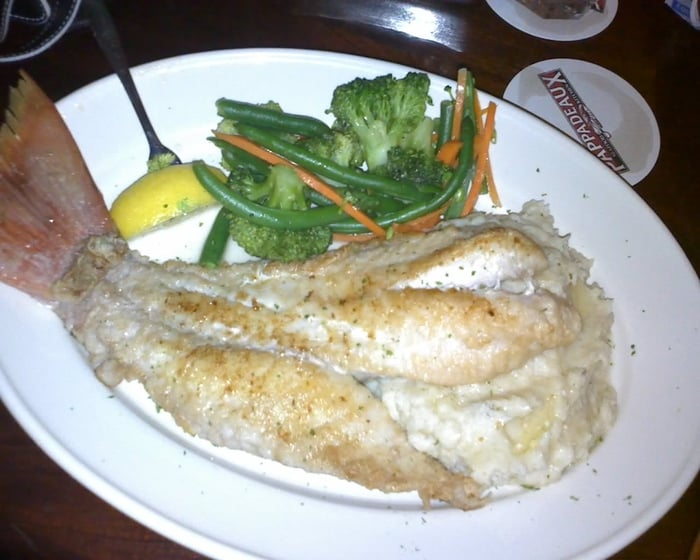 Costa Rica Snapper With Mashed Potatoes And Vege