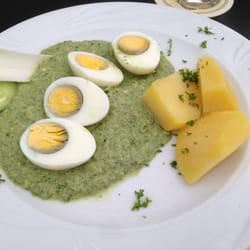 Frankfurter Grune Sauce :-)) Yummy :-)