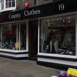 County Clothes Menswear, Canterbury, Kent