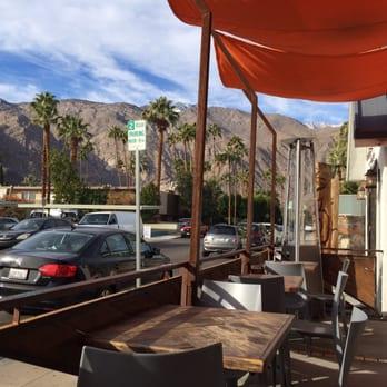 coffee shops palm springs