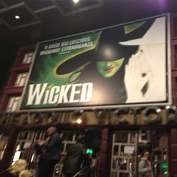 Wicked was amazing!!!