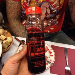 Wine is served in baby bottles