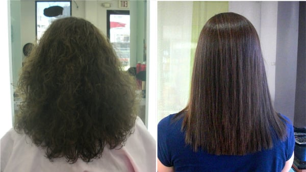 Before And After Magic Straightening Yelp