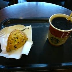 Scone et cafe Americano