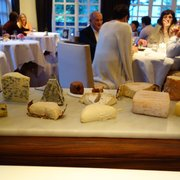 Collection of unpasteurized cheeses,…