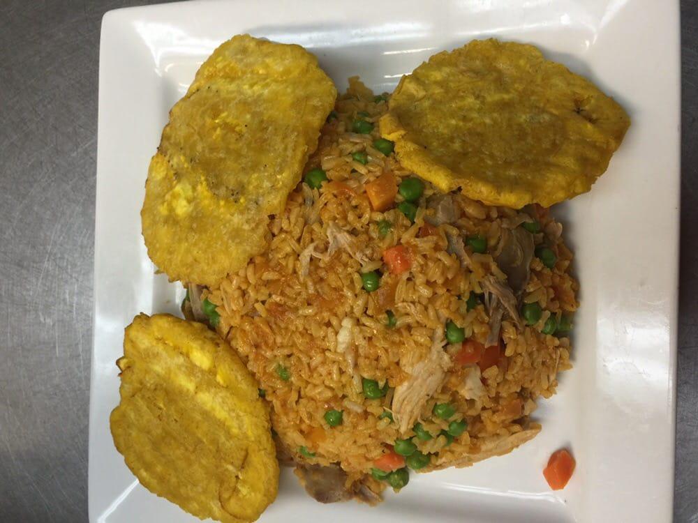 Arroz Con Pollo Colombiano Aroma Colombiano Restaurante Arroz Con Pollo Hugeee Miami fl United