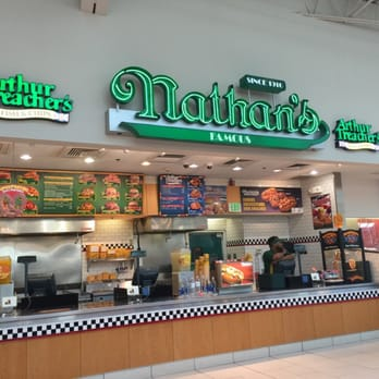 Nathan S Famous Hot Dogs Hot Dogs Elizabeth Nj United States Reviews Photos Yelp