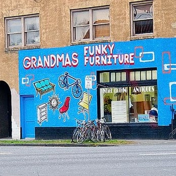 grandma s funky furniture furniture store southeast portland portland or united states. Black Bedroom Furniture Sets. Home Design Ideas