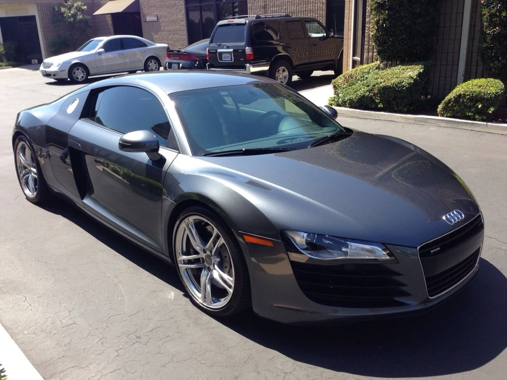 R8 Audi With Llumar 40 Amp Huper 70 Windshield Yelp